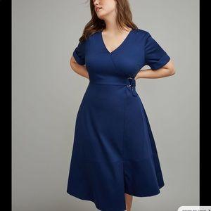 Glamour X Lane Bryant Blue Dress Womens 22/24